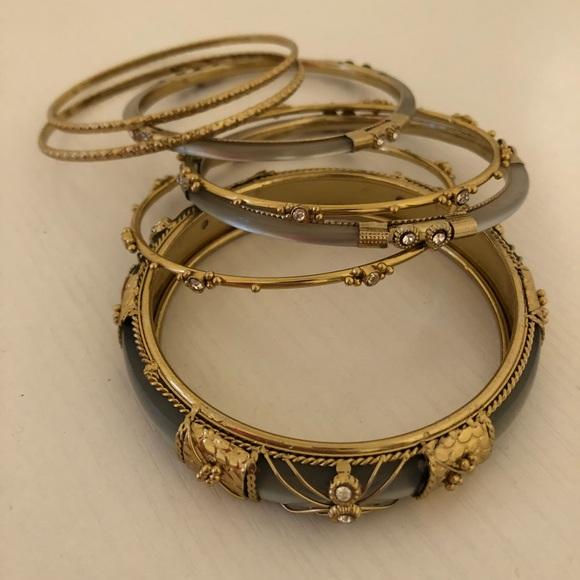 Nordstrom Jewelry Ornate Gold Bangle Bracelets Poshmark
